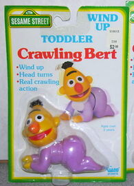 Illco 1990 toddler crawling bert