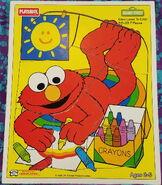 Playskool1994ElmoLovestoColor7pcs