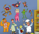 Muppet wall decals (Fathead)