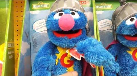 Super Grover talking plush, Playskool 2011