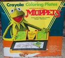 Crayola Coloring Plates