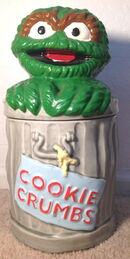 Demand marketing oscar cookie jar