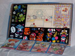 Muppet babies colorforms set 2
