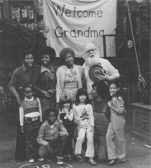 Welcome Grandma