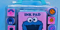 Sesame Street rubber stamps (Nakajima USA)