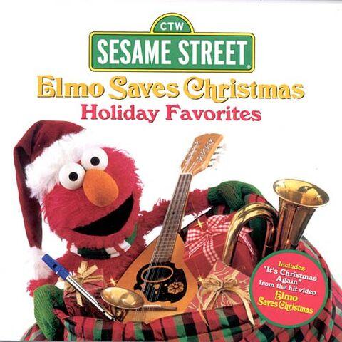 File:Elmo Saves Christmas- Holiday Favorites (CD).jpeg