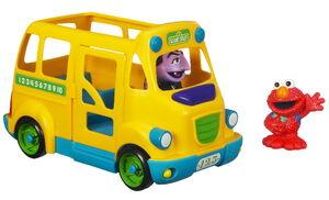 Sesame street school bus hasbro 2