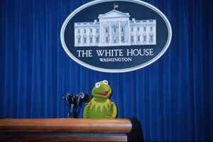 Kermit press room