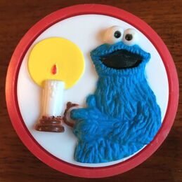 Demand marketing night light cookie monster