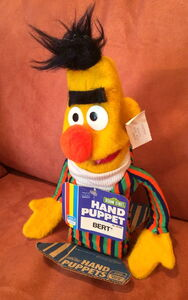Gabriel child guidance bert hand puppet 1