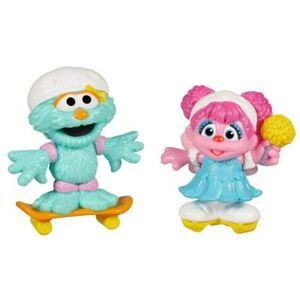 HasbroPlayskool-SesameStreet-Figures-SkatingFriends-AbbyCadabby&Rosita