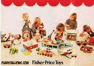 1977FisherPriceInsertCatalogFozzieBear