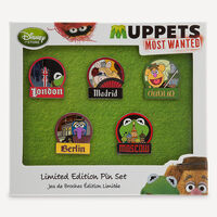 MuppetsMostWanted-LimitedEditionPinSet