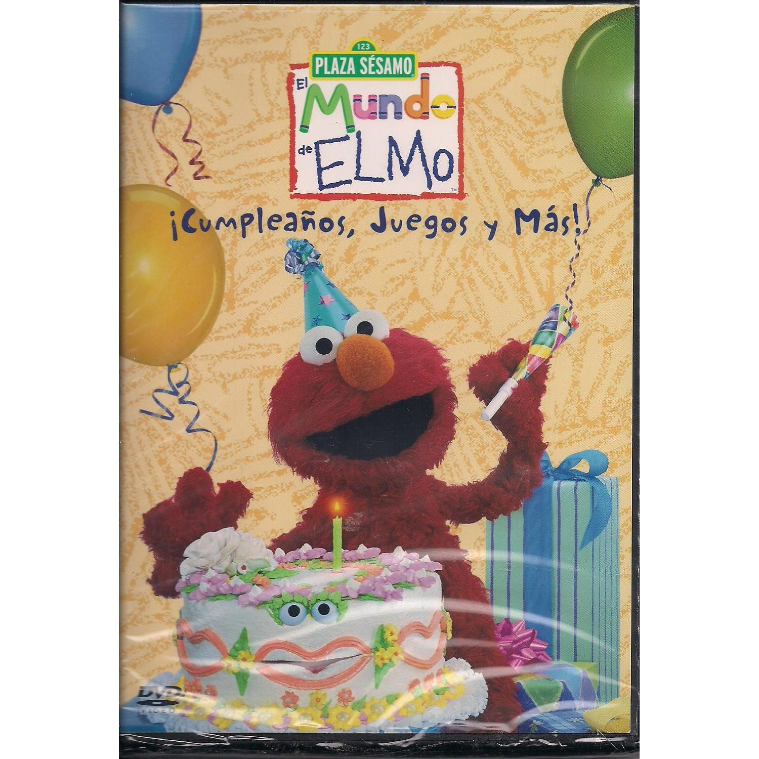 Opening To Elmo's World: Birthdays Games & More! VHS (2001 ...