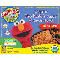 Organic Elmo Pasta 'n Sauce with Carrots and Broccoli