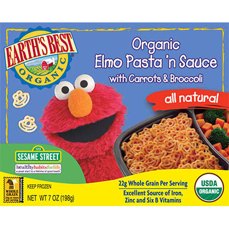 File:Organic Elmo Pasta 'n Sauce with Carrots and Broccoli.jpg