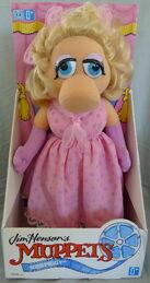Hasbro 1993 miss piggy plush
