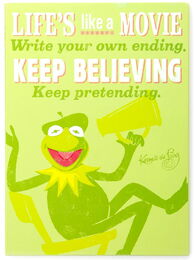 Plaque kermit director
