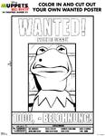 MuppetsMostWanted-WantedPosterColoringPage