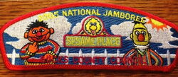 Sesame place patch 2005 bucks county council jamboree 3
