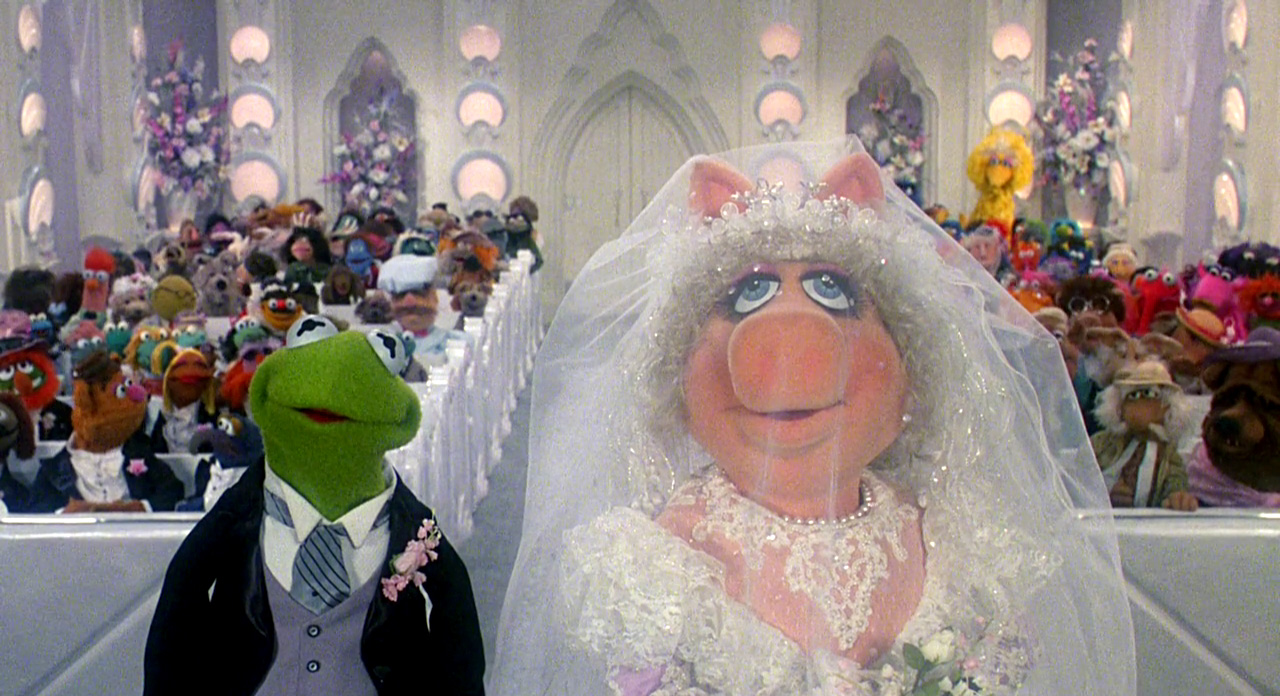You're cordially invited to a Muppet wedding
