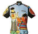 Sesame Street cycling jerseys (Pearl Izumi)