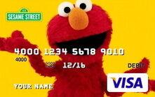 Sesame debit cards 52 elmo