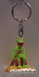 Junior toys igel germany keychain kermit raft
