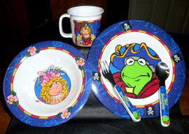 Selandia 1996 muppet treasure island dinnerware 1