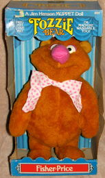 Fisher-price muppet doll fozzie 1