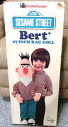 Knickerbocker 1975 bert rag doll 27 inch 1