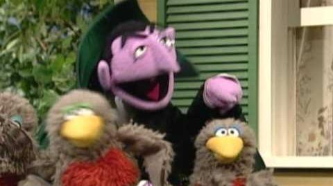 Sesame Street Counting Robins