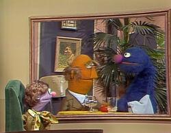 Leslie Mostly Grover Charlie's restaurant