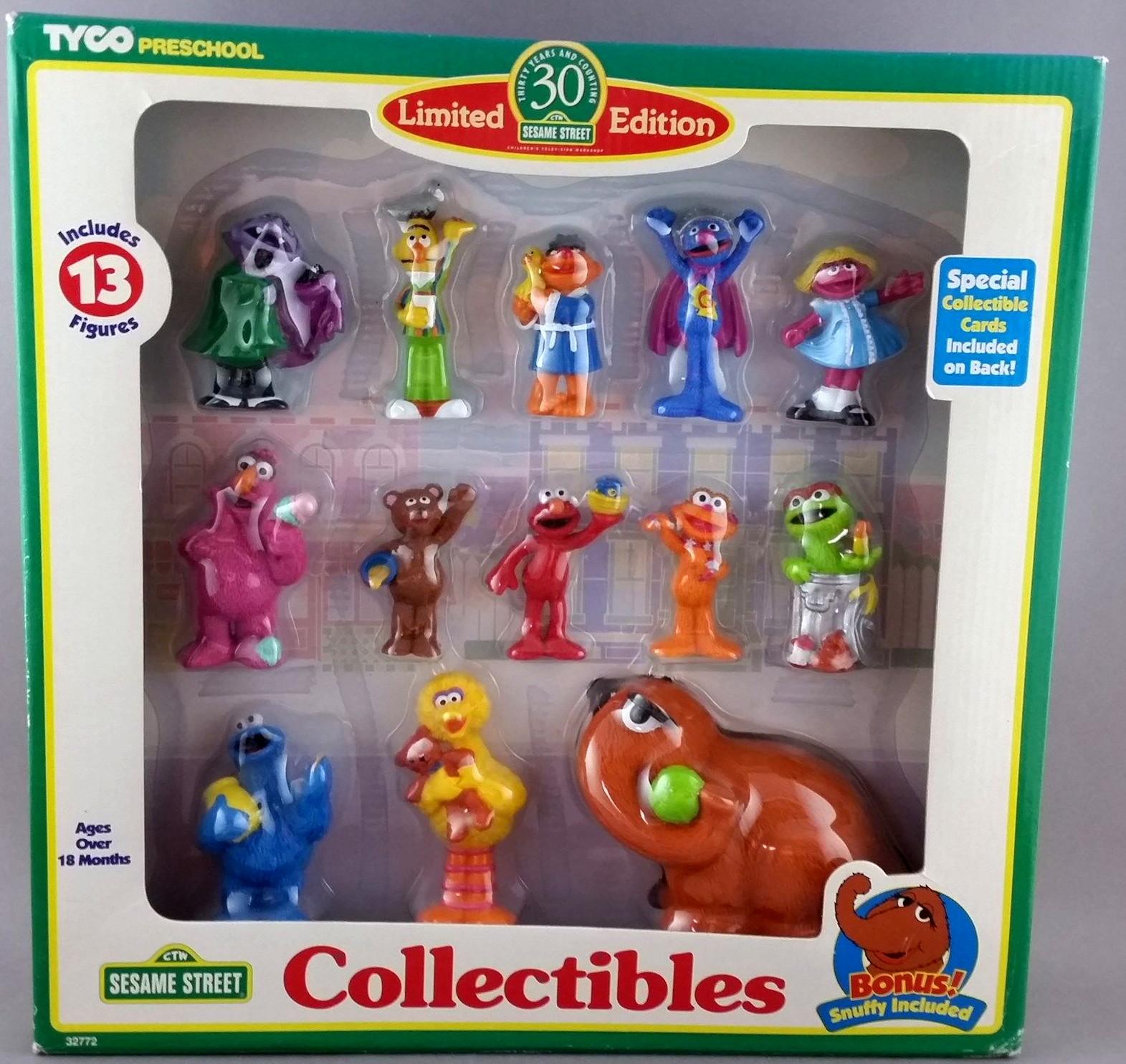 Sesame Street Toys : Sesame street pvc figures tyco muppet wiki fandom