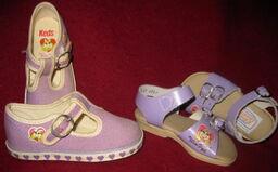 Keds piggy shoes 1981