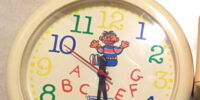 Sesame Street clocks (InterDesign)