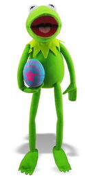 Just play 2013 easter kermit plush