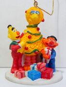 Kurt adler big bird ernie bert early christmas ornament 1