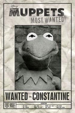 MuppetsVision3D Constantine WantedPoster