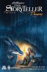 Jim Henson's Storyteller - Dragons 01-Variant - Jackpot - Cory Godbey