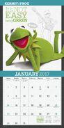 Muppets 2017 calendar 2