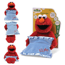 Gund 2013 peek-a-boo elmo moving and talking plush