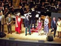 Sesame cast Carnegie Hall