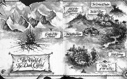 TheTaleOfTheDarkCrystal-Map-BruceMcNally-(1982)
