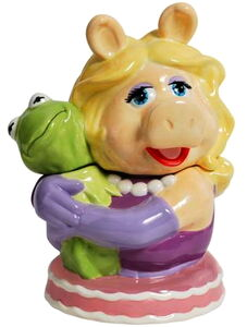 Westland giftware 2012 piggy kermit cookie jar