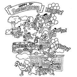 AmericanApparel-Happy40thSesameStreet-SSShirt