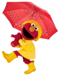 Elmo-Umbrella