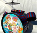 Muppet Babies drum set