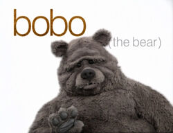 Muppetism Bobo the bear butterfly