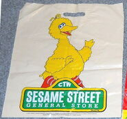 Sesame street general store shopping bags dd